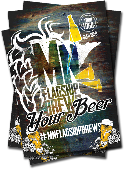 Flagship Brews Poster